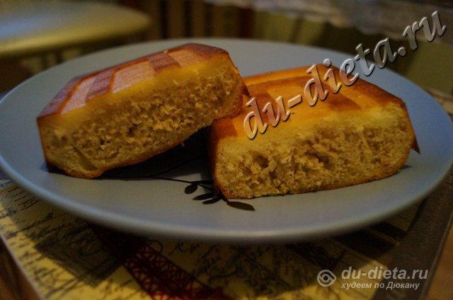 Овсяный хлеб по Дюкану - Несладкая выпечка