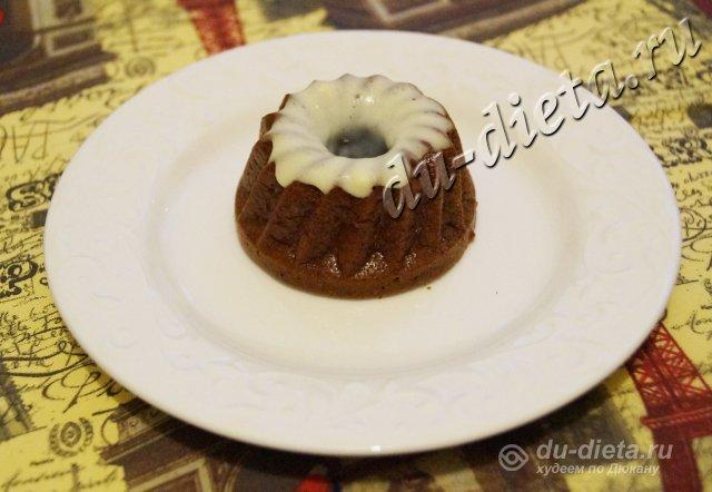 Шоколадно-апельсиновый кекс по Дюкану