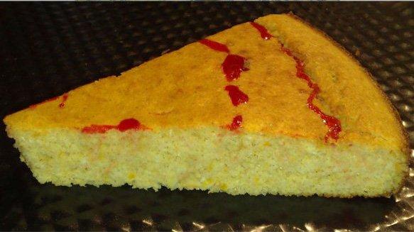 Мандариновый пирог по Дюкану