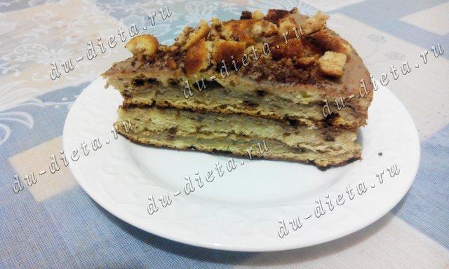 Кофейный торт по Дюкану